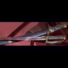 Polish hussar's sabre with sheath