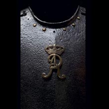 Breastplate of the Horse Guards or Dragoons of King Augustus II - detail