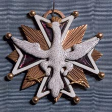 Order of the White Eagle of Michał Obuchowicz