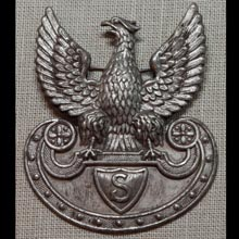 Eagle for the projected parade cap of the Polish Legions infantry