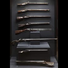 Sporting and hunting wheel-lock guns, 16th-18th century