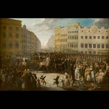 Prince Józef Poniatowski Entering Krakow on July 15, 1809