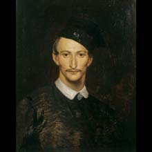 "Self-Portrait in a Four-Cornered Hat, called ""konfederatka"""
