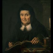 Portrait of Julia Hadziewicz, mother of the artist