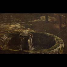 Fountain – study for the painting In a Bower
