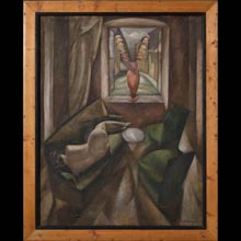 Nude In an Interior (The Interior); Two Nudes with a Guitar