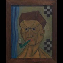 Man with a Pipe (Portrait of Tytus Czyżewski)
