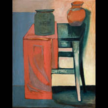 Still Life (Chair and a Jug)