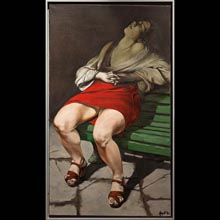 Woman Forlorn XI (after Caravaggio)